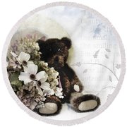 Shabby One Round Beach Towel
