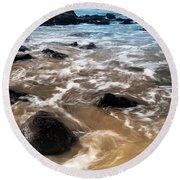 Shades Of Nature Round Beach Towel