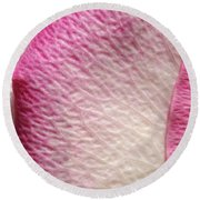 Shades Of Pink Round Beach Towel by Luke Moore