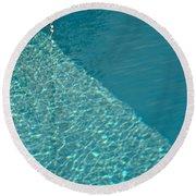 Shadow Shapes II Round Beach Towel