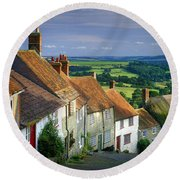 Shaftesbury Round Beach Towel