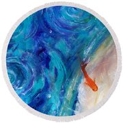 Shannon - Fish Round Beach Towel