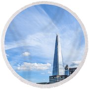 Shard Round Beach Towel
