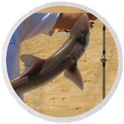 Baby Shark Round Beach Towel