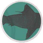 Shark Ll Round Beach Towel