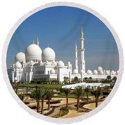 Sheikh Zayed Bin Sultan Al Nahyan Grand Round Beach Towel