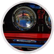 Shelby Gt 500 Mustang 3 Round Beach Towel