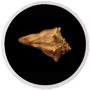 Shells Of The Gulf Coast 9 Round Beach Towel