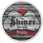 Shiner Specialty Round Beach Towel