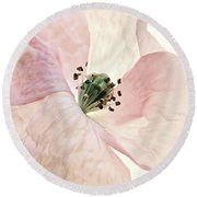 Shirley Watercolor Round Beach Towel