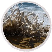 Shorebreak - The Wedge Round Beach Towel