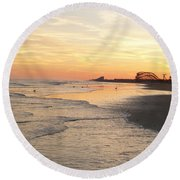 Shoreline Nj Round Beach Towel