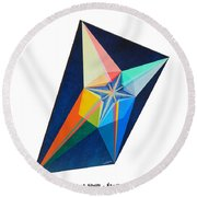 Shot Shift - Etoile 1 Round Beach Towel