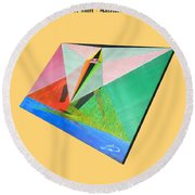 Shot Shift - Matriarche 1 Round Beach Towel