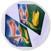 Shots Shifted - Infini-justice 1 Round Beach Towel