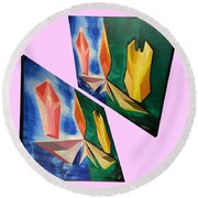 Shots Shifted - Infini-justice 5 Round Beach Towel