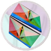 Shots Shifted - Matriarche 3 Round Beach Towel