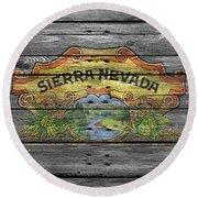 Sierra Nevada Round Beach Towel