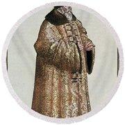 Sigismund Von Herberstein (1479-1533) Round Beach Towel