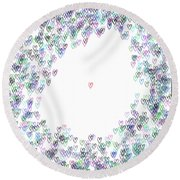Single IIi ... Round Beach Towel