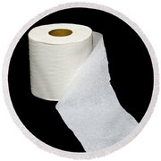 Single Ply Toilet Paper Round Beach Towel