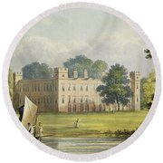 Sion House, From R. Ackermanns Round Beach Towel