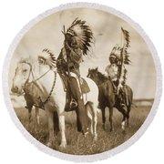 Sioux Chiefs  Round Beach Towel