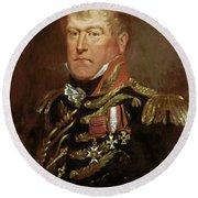 Sir George Wood (1767-1831) Round Beach Towel
