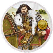 Sir Marhaus Round Beach Towel