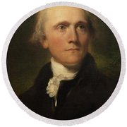 Sir William Grant Round Beach Towel by Thomas Lawrence