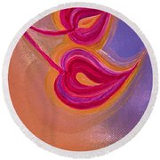 Sisters By Jrr Round Beach Towel by First Star Art