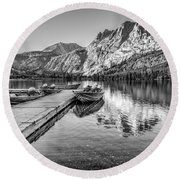 Silver Lake Round Beach Towel