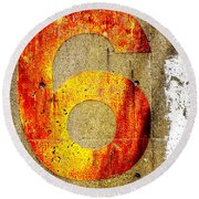 Six Round Beach Towel