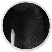 Skc 3141 Archaic Arches Round Beach Towel