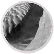 Skn 1426 The Highlights And Shadows Round Beach Towel