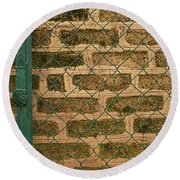Skc 0404 Gate To The Wall Round Beach Towel