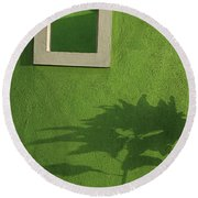 Skc 0682 Nature In Shadow Round Beach Towel