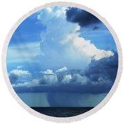 Sky Magic... Round Beach Towel