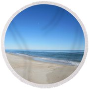 Sky View Round Beach Towel