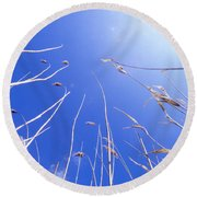 Skyward Round Beach Towel