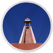 Skyway Round Beach Towel