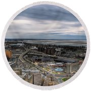 Skyway Early Spring 2014 Round Beach Towel