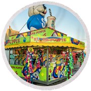 Slush Puppie 2 Round Beach Towel
