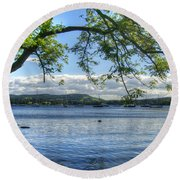 Beautiful Knaresborough - England Round Beach Towel