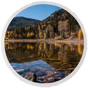 Smith And Morehouse Reflections Round Beach Towel