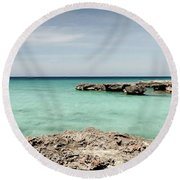Smith Cove West Round Beach Towel