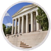 Smithsonian National Gallery Of Art Round Beach Towel
