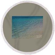 Smooth Seas Round Beach Towel