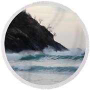 Smugglers Cove Round Beach Towel