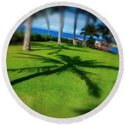 So Hawaiian... Round Beach Towel